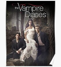 The vampire diaries Cover 01 Poster