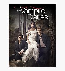 The vampire diaries Cover 01 Photographic Print