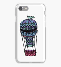 Hot Air Balloon ~ Alternate Colors iPhone Case/Skin