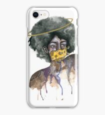 Ring Around the Afro iPhone Case/Skin