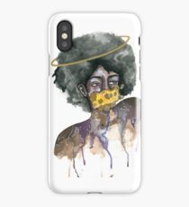 Ring Around the Afro iPhone Case
