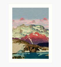 Winter in Keiisino Art Print