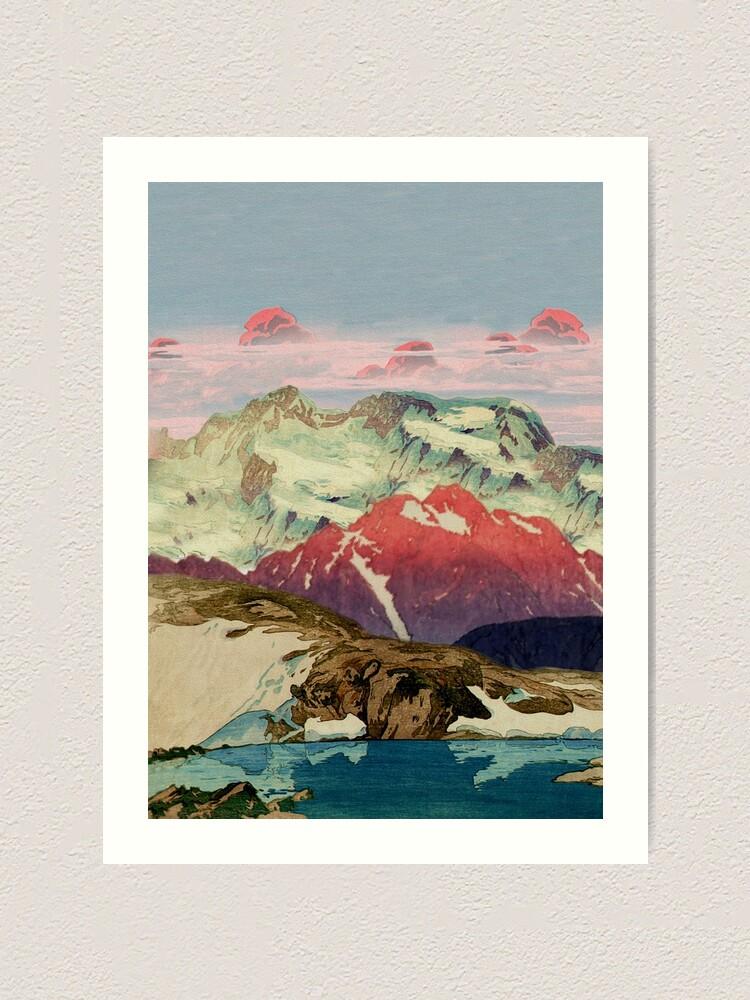 Alternate view of Winter in Keiisino Art Print