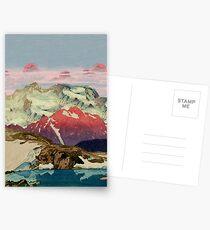Winter in Keiisino Postcards