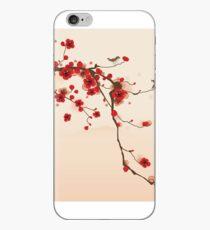 Wunderlicher roter Kirschblüten-Baum iPhone-Hülle & Cover