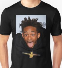 Funny Face jaden Smith Unisex T-Shirt
