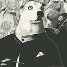 Autoportrait with cat von catFreud