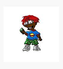 Lil Yachty Thug Rats OG / shirt sticker phone / Photographic Print