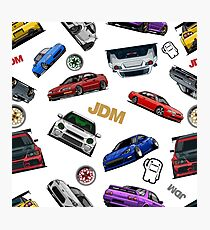 JDM pattern Photographic Print