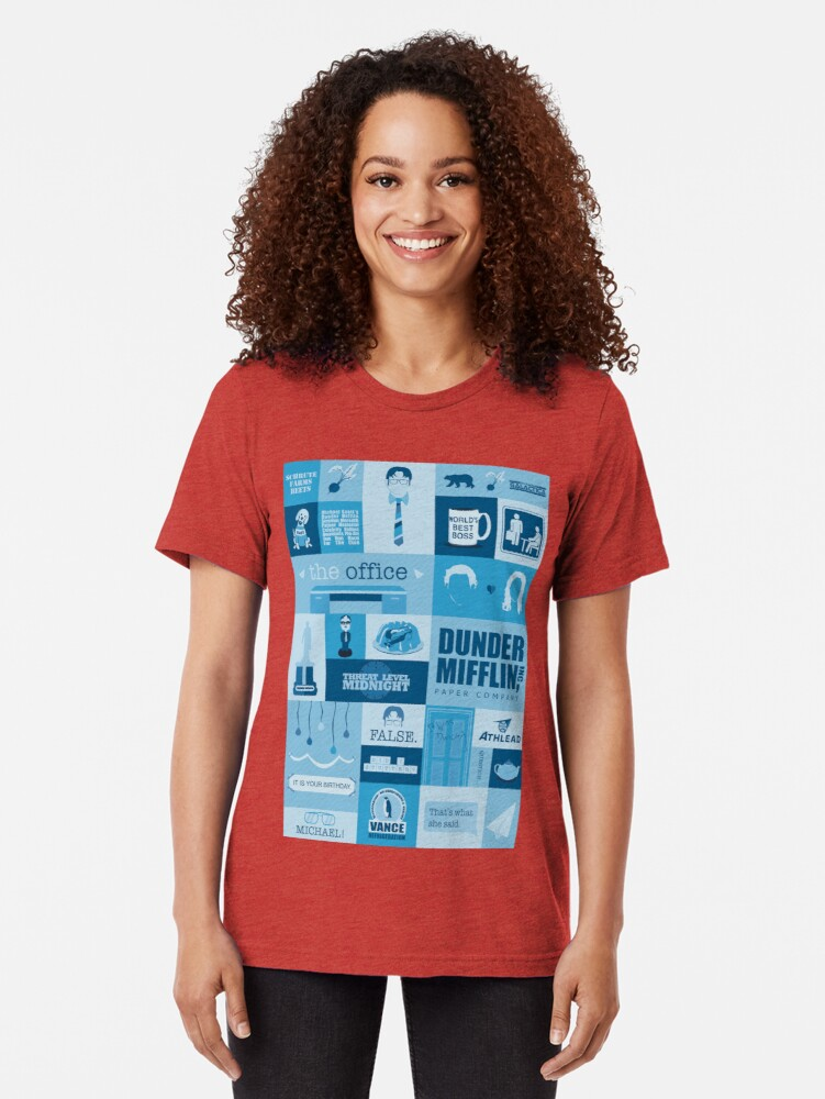 Alternate view of The Office Tri-blend T-Shirt