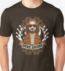 The Dude Abides The Big Lebowski Unisex T-Shirt