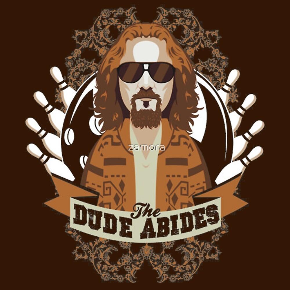 The Dude Abides The Big Lebowski by zamora