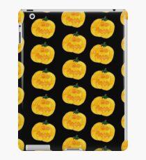 Halloween-Kürbis-Muster - Hagel den Kürbis iPad-Hülle & Klebefolie