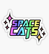 SPACE CATS! Sticker