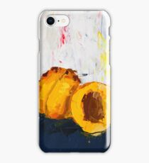 Apricot in Half iPhone Case/Skin