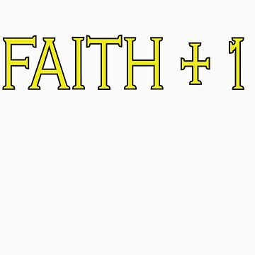 Faith Plus One by minty-fresh15