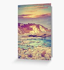 Sunset at Yuke Greeting Card