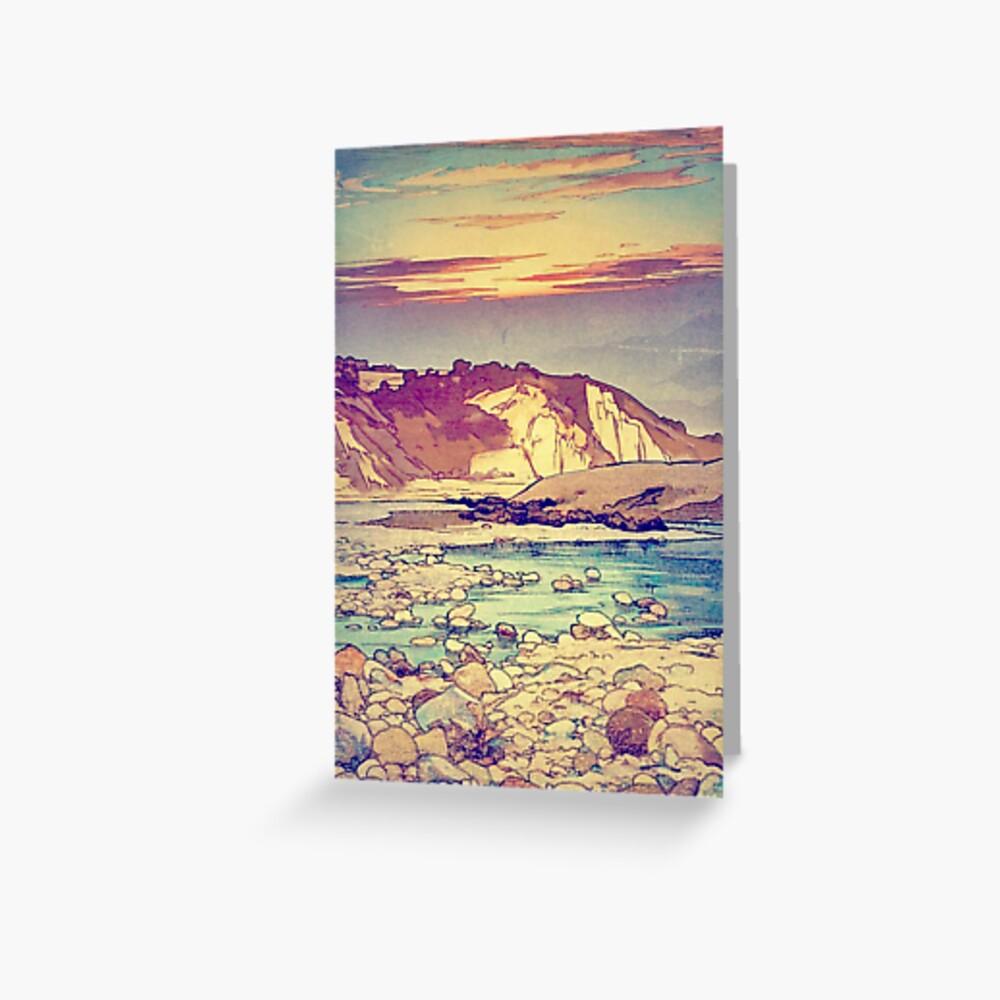 Sunset at Yuke Greeting Card