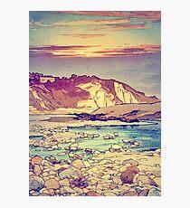 Sunset at Yuke Photographic Print
