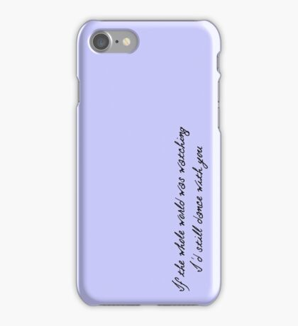 Niall Horan This Town Phone Case iPhone Case/Skin