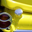 Yellow custom tail light by Norman Repacholi