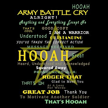 Army - Army Battle Cry by carrollhentz