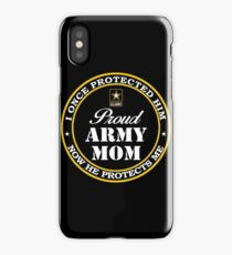 Army - Proud Army Mom iPhone Case