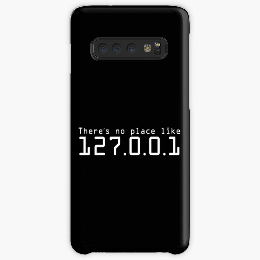 Es gibt keinen Platz wie 127.0.0.1 - Hacker-Leben Hülle & Klebefolie für Samsung Galaxy
