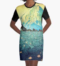 Waddling through Kennijo Lake Graphic T-Shirt Dress
