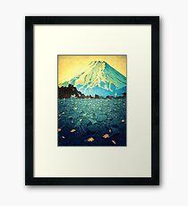 Waddling through Kennijo Lake Framed Print