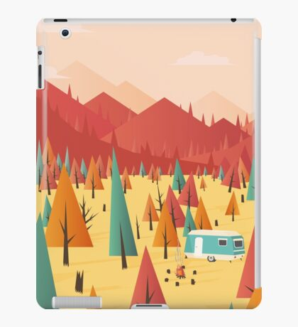 Go out iPad Case/Skin