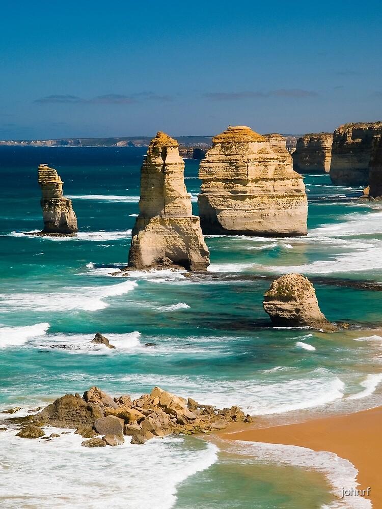 Twelve Apostles, Great Ocean Road, Victoria. by johnrf