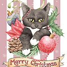 Christmas Cat by LCWaterworth