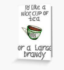 Accio tea Greeting Card