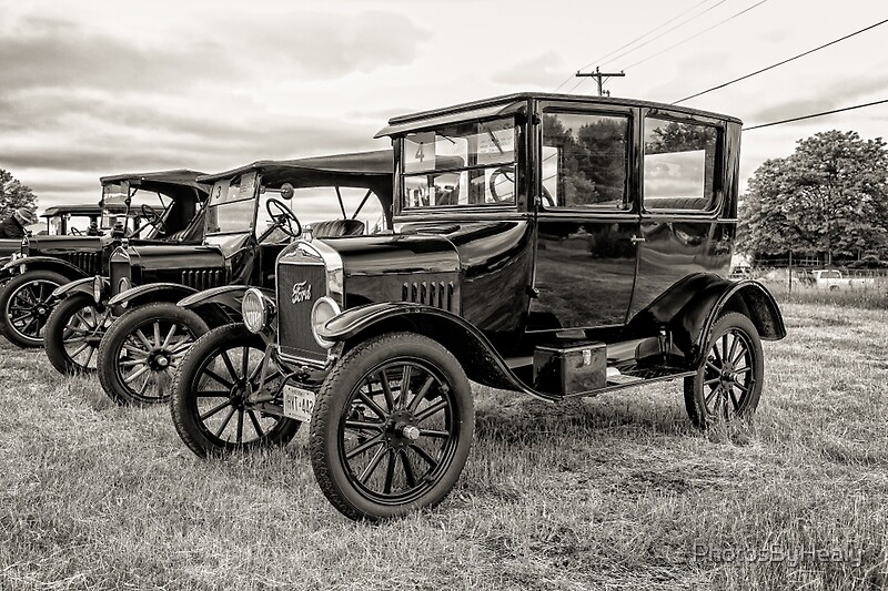 1923 Ford Model T Tudor by Photos by Healy