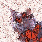 Red Black Cat #Polygonized by blackhalt