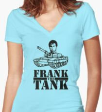 WILL FERRELL - FRANK THE TANK - OLD SCHOOL MOVIE Women's Fitted V-Neck T-Shirt