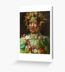 Arcimboldo vertumnus Greeting Card