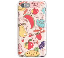 Kitchen, Fruits, Flower,  iPhone Case/Skin