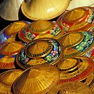 Pile of Straw Hats, Thailand by Petr Svarc