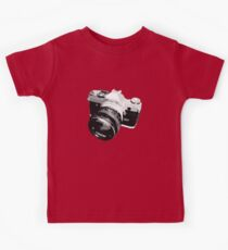 Black and White 35mm SLR Design Kids Clothes