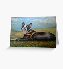 Pixie on the Prairie Greeting Card