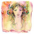 """Gardener Girl"" from the series ""Gaya"" by Anna Miarczynska"