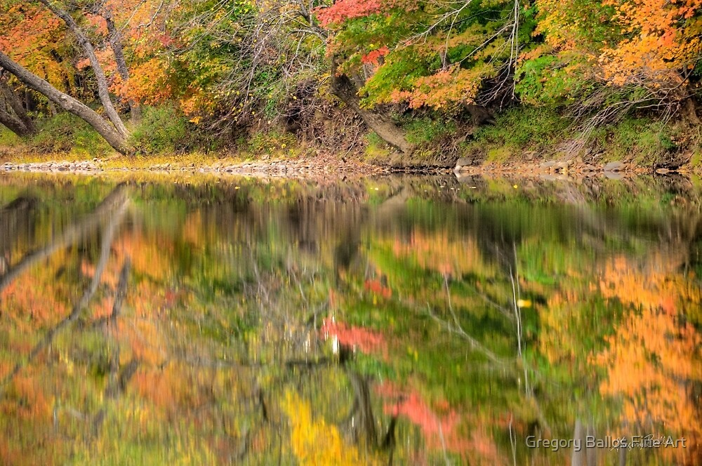 Refracted Autumn by Gregory Ballos