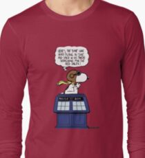 The time war hero Long Sleeve T-Shirt