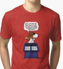 The time war hero Tri-blend T-Shirt