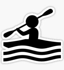 Kayak Icon Sticker