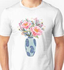 Vase Illustration T-Shirt