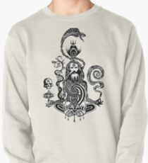 Pray black and white Pullover