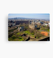 The West End Canvas Print